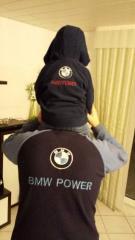 Bmw power embroidery logo
