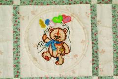 Old Toys art and embroidery