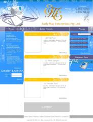 EME website tempale design