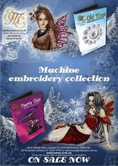 EME embroidery advertising for Australian magazine