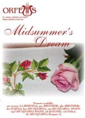 Midsummer Dream embroidery CD cover