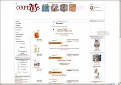 Orfeus online embroidery shop - beta version