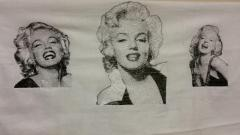 Marilyn Monroe free embroidery designs