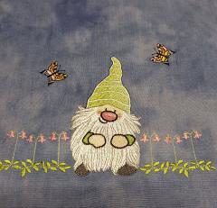 Little dwarf embroidery design