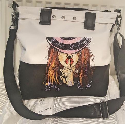 Embroidered bag