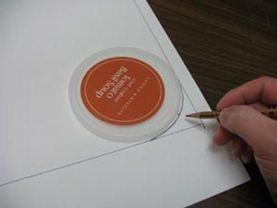 Create round corner with template