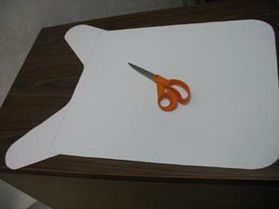 Cut finished pattern