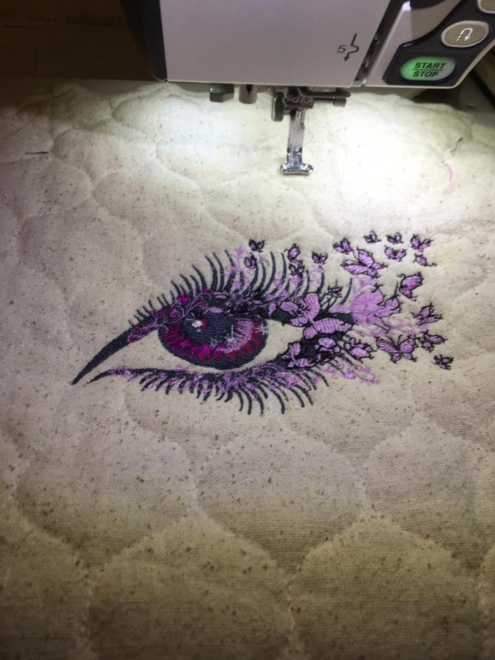 Breathtaking look machine embroidery design