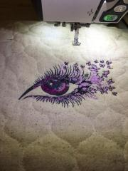Breathtaking look machine embroidery design
