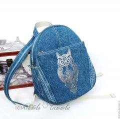 School backpack blend owl