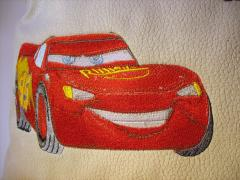 Lightning McQueen machine embroidery design