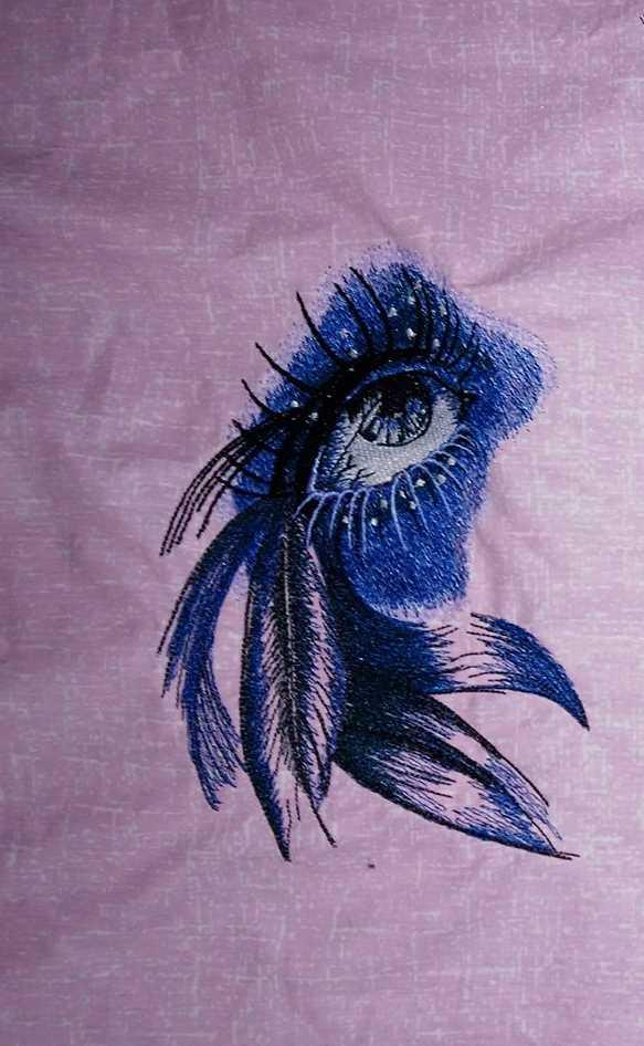 Beautiful look embroidery design