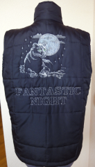 Fantastic night machine embroidery design