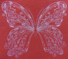 Pretty buttefly embroidery design