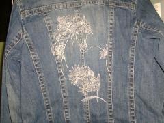 Jacket with Horse free embroidery design