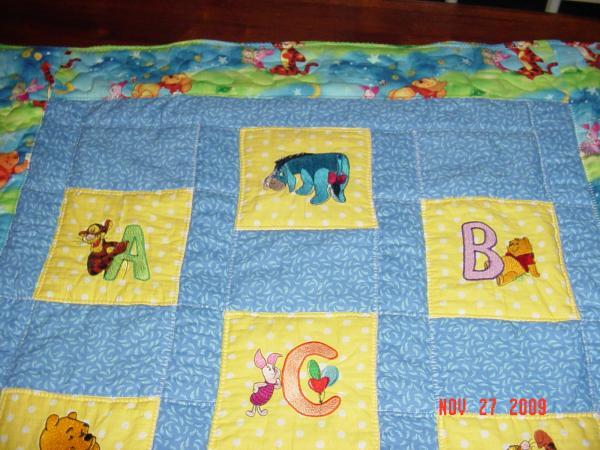 Big Quilt with free embroidery designs