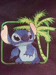 Stitch free embroidery design