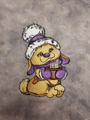 Cocoa for bunny embroidery design