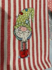 Gnome in polka dot cap design