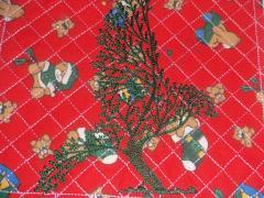Tree bird embroidery design