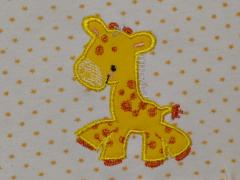 Giraffe applique free embroidery design