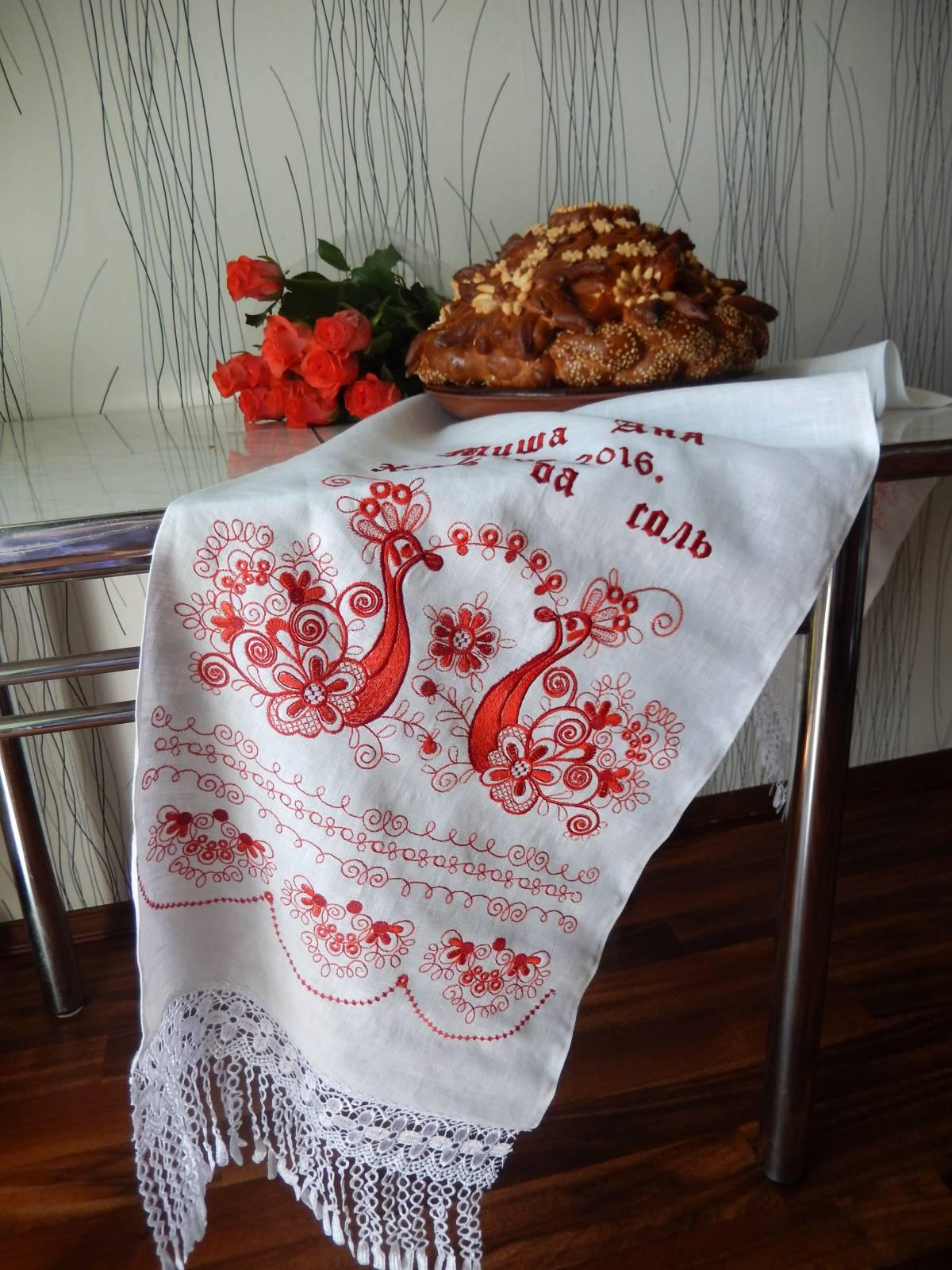 Kitchen decoration with Firebird free embroidery design ...
