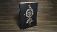 Embroidered cover with Compass design