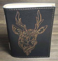 Embroidered cover with Deer design