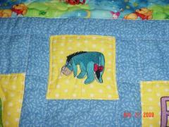 Eeyore 1 machine embroidery design
