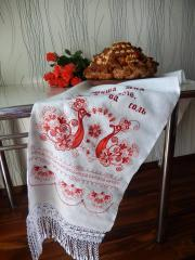 Kitchen decoration with Firebird free embroidery design