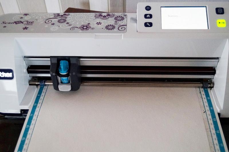 ScanNCut scanning mat