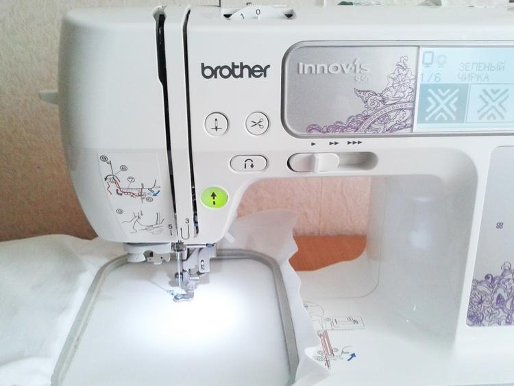 Brother Innov-is embroidery machine