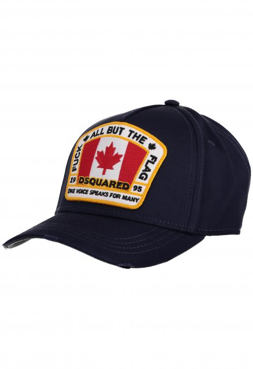 Baseball cap with embroidery design
