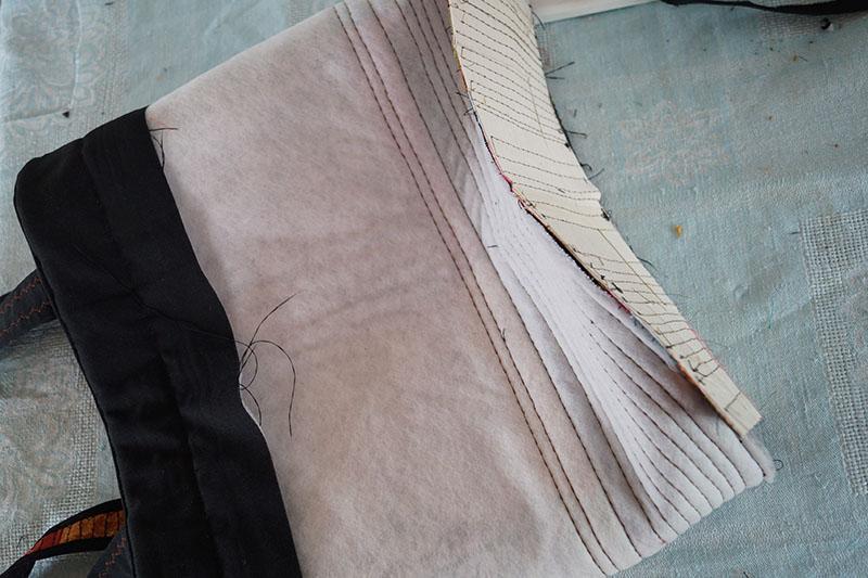Hawaiian bag padding