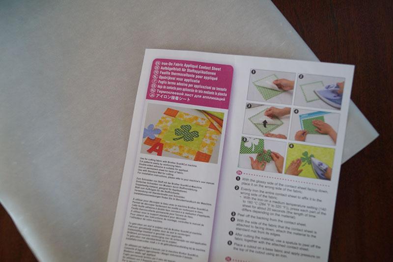 Contact sheet manual