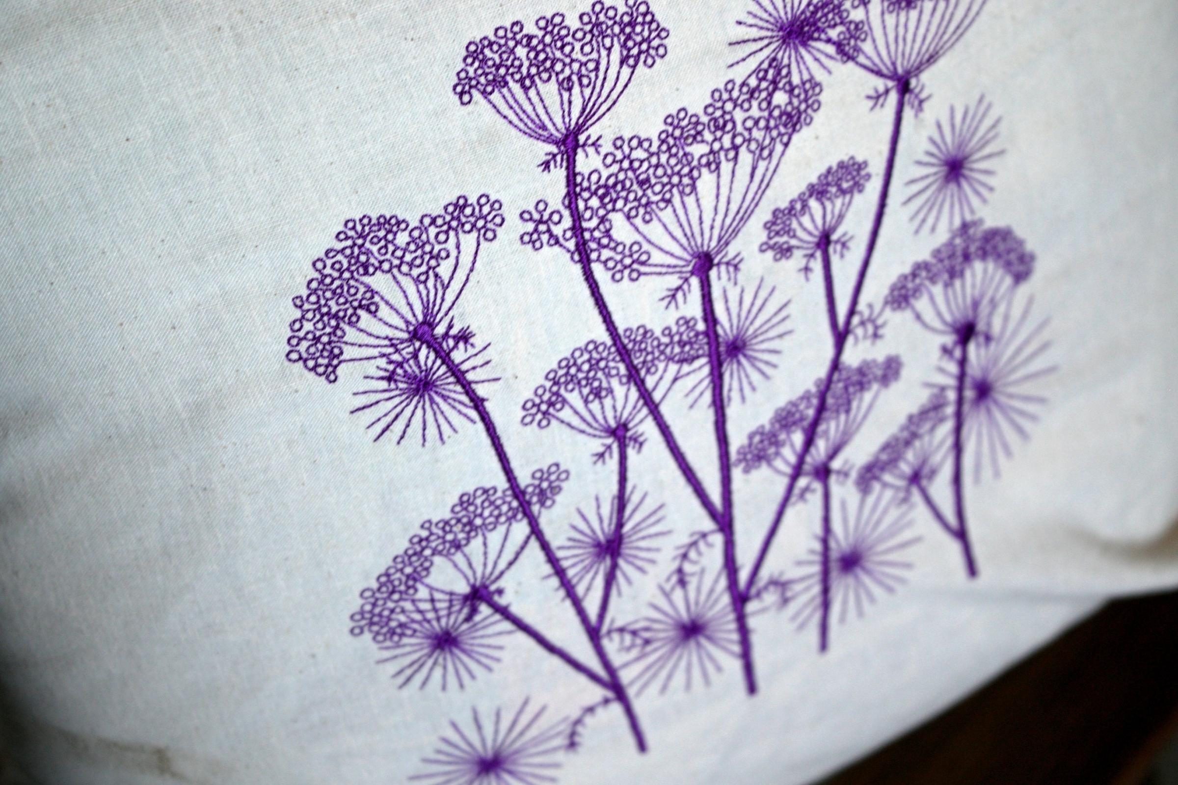 Cow parsnip design