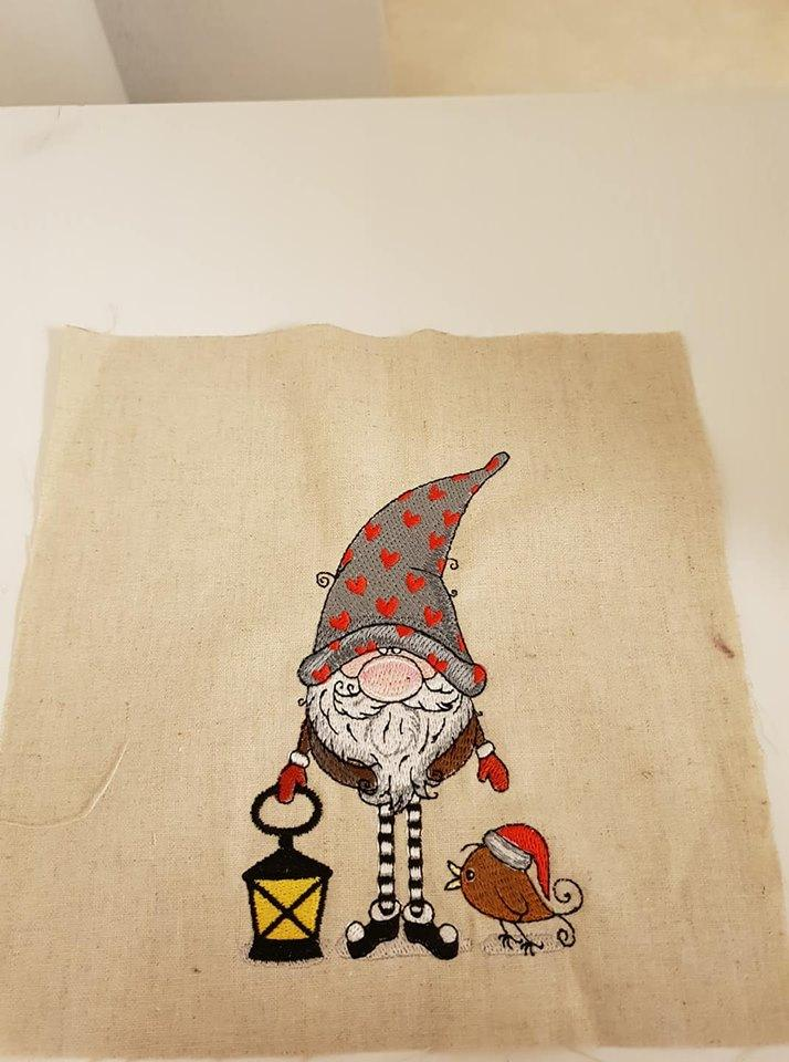 Gnome in phrygian cap design