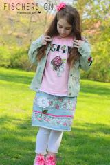 Embroidered set with Floral design