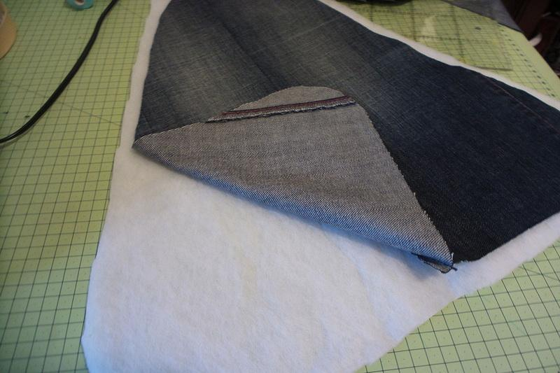 Back panel of the backpack with padding