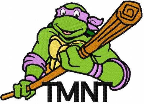 Donatello embroidery design