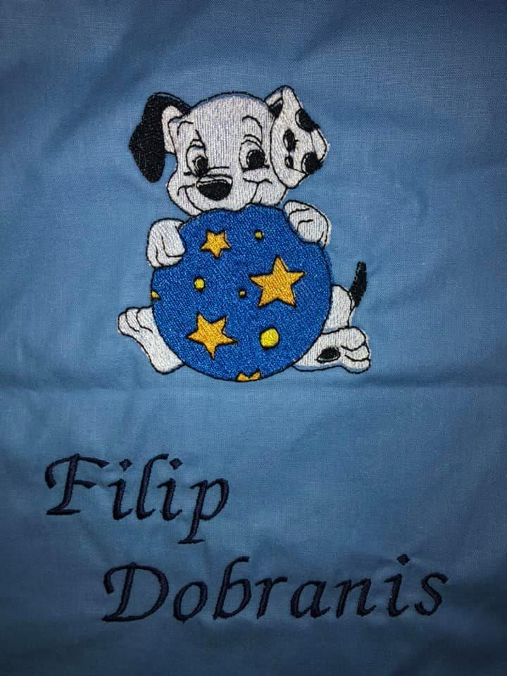 Puppies embroidery design