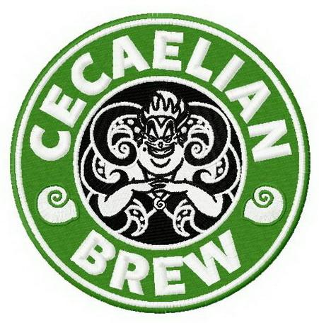 Cecaelian brew machine embroidery design