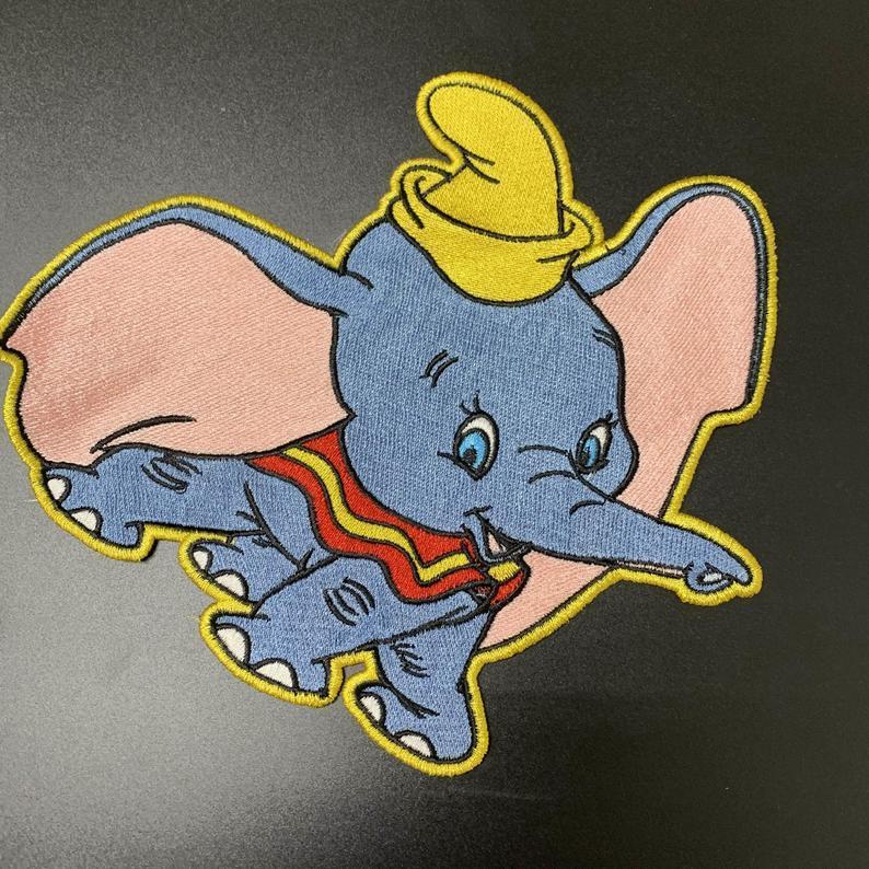 Dumbo embroidery design