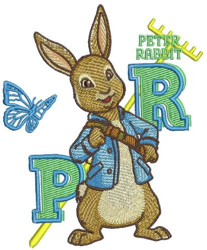 Peter Rabbit embroidery design 3