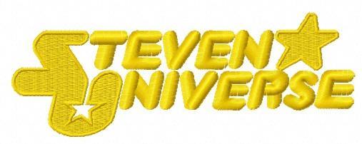 Steven Universe logo machine embroidery design