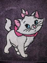 Aristocat embroidery design