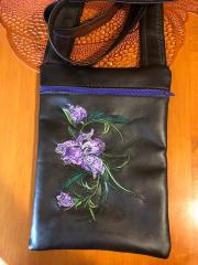 Embroidered bag with Floral design
