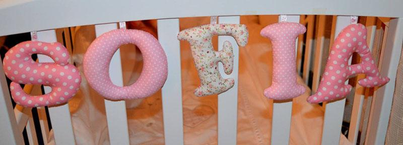 Sofia soft three-dimensional letters