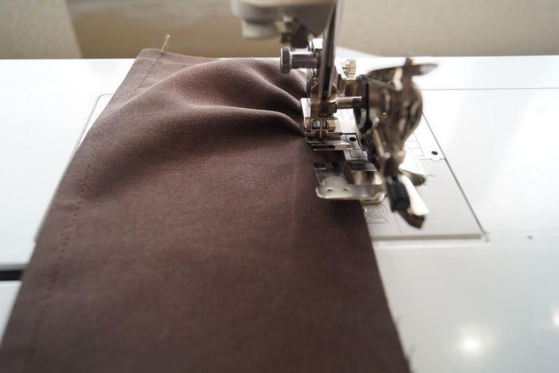 Stitching basque
