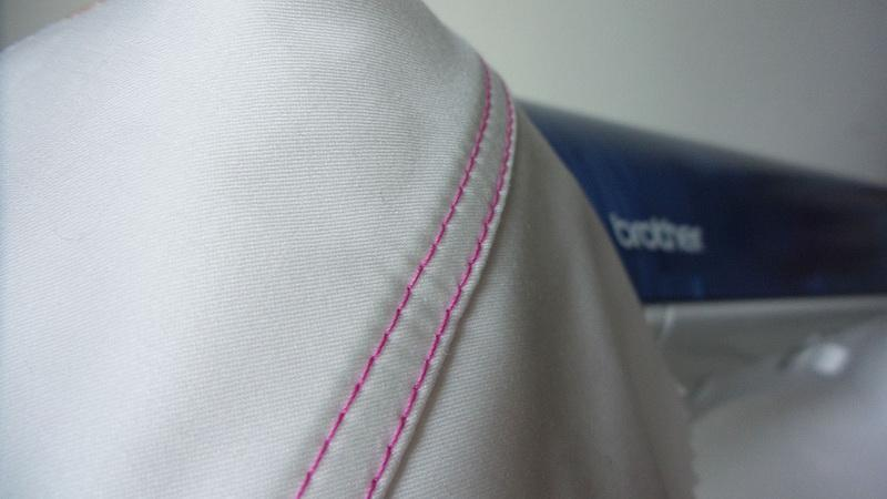 Double stitched seam ready